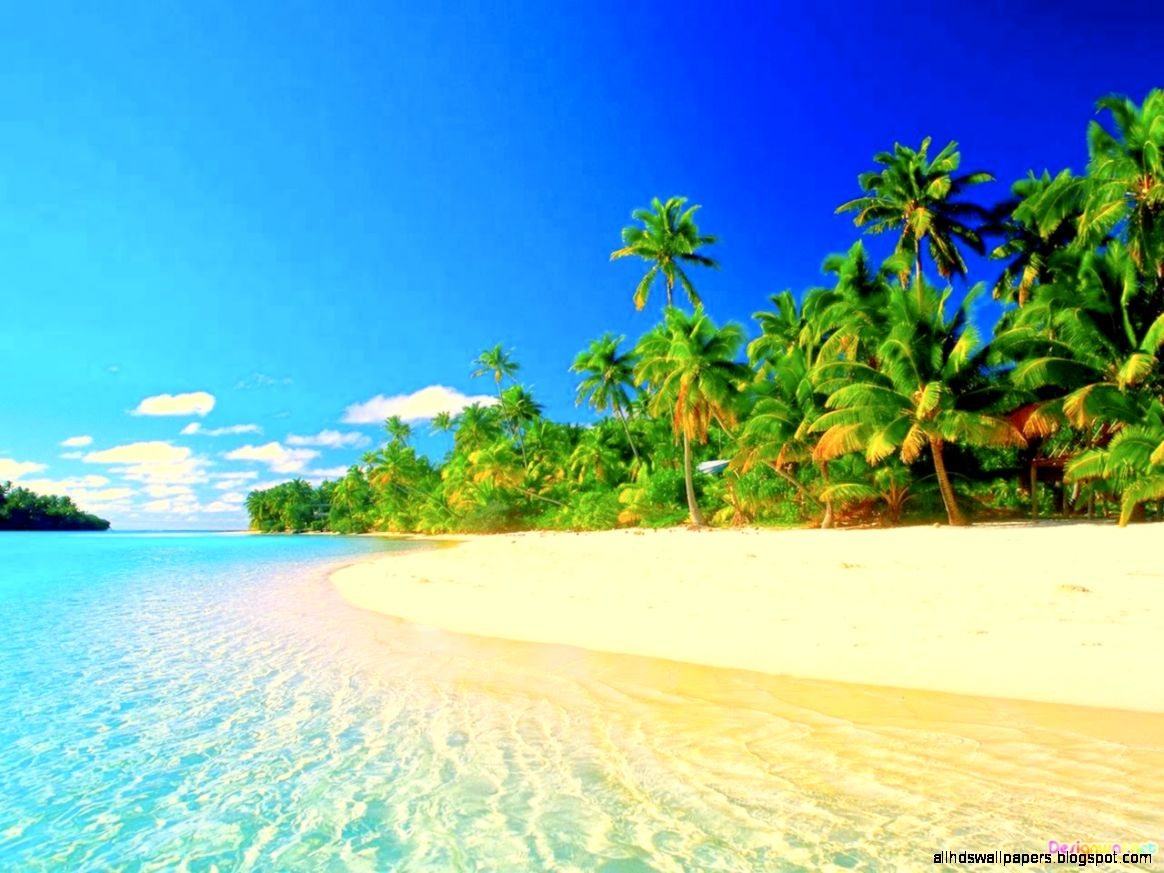 Hd Tropical Island Beach Paradise Wallpapers And Backgrounds: Most Beautiful Beach Wallpaper