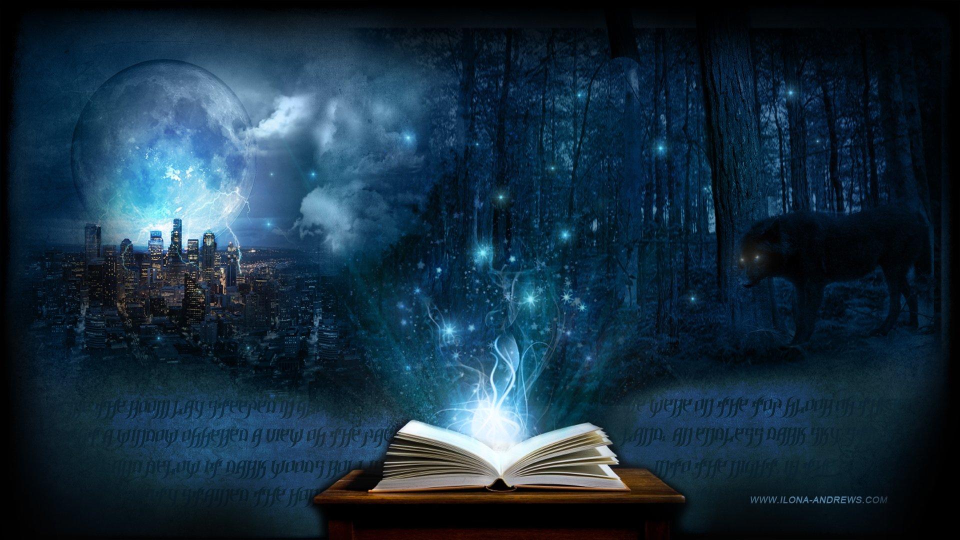 Magic Book Wallpaper 1920x1080