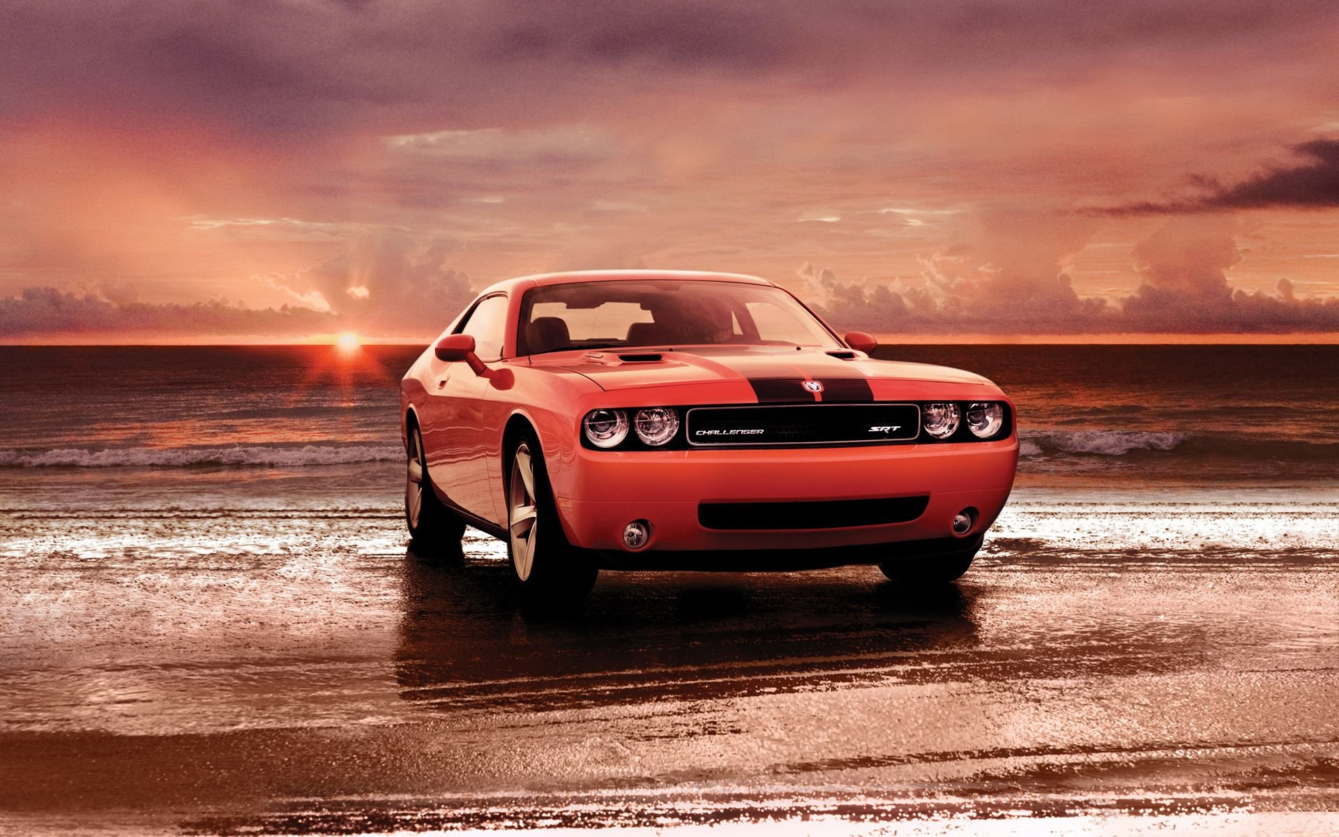 Dodge Challenger SRT8 Wallpaper HD 1920x1200