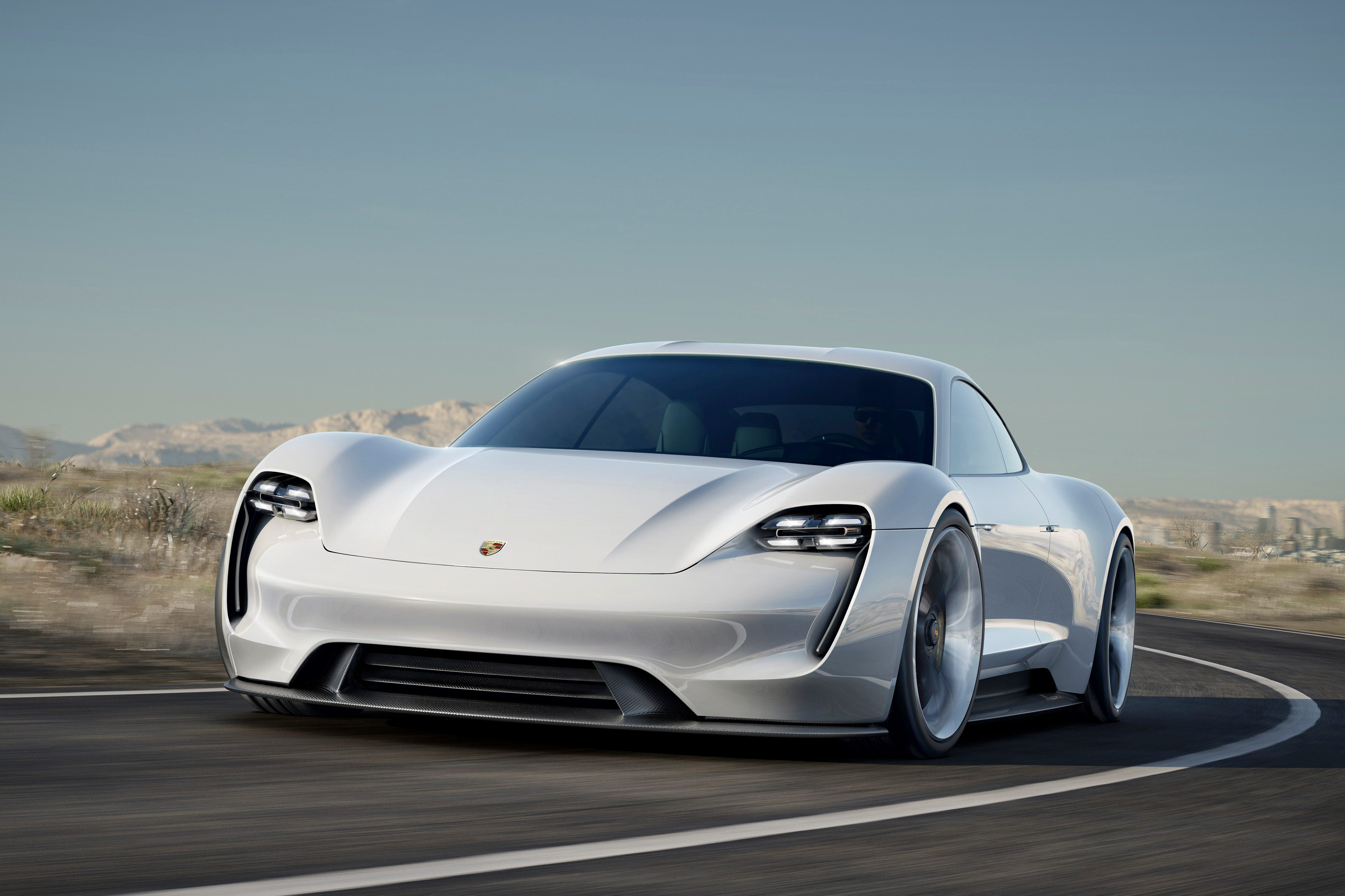 Porsche releases first teaser images of new Taycan Mission E 3600x2400