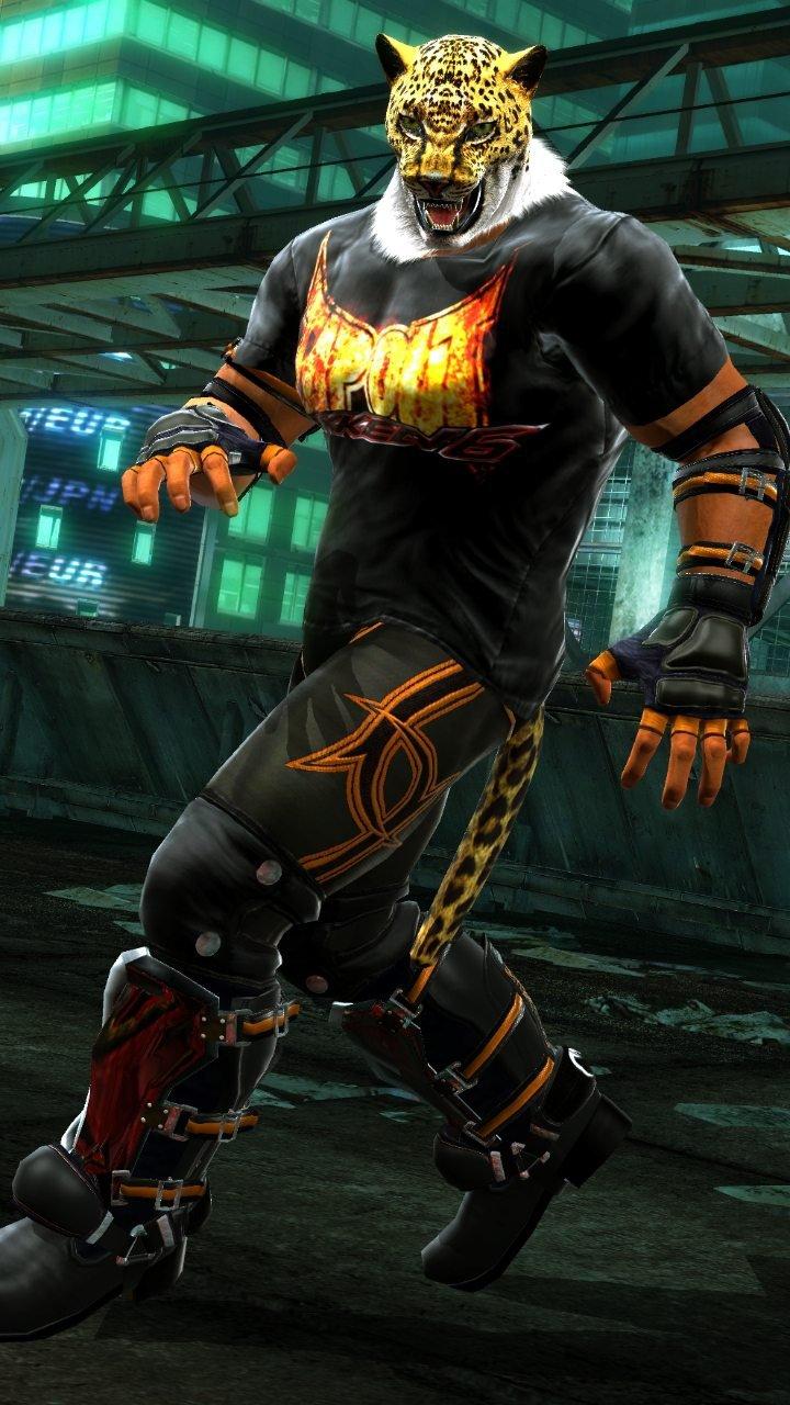 King From Tekken 6 by AnnaPredator 720x1280