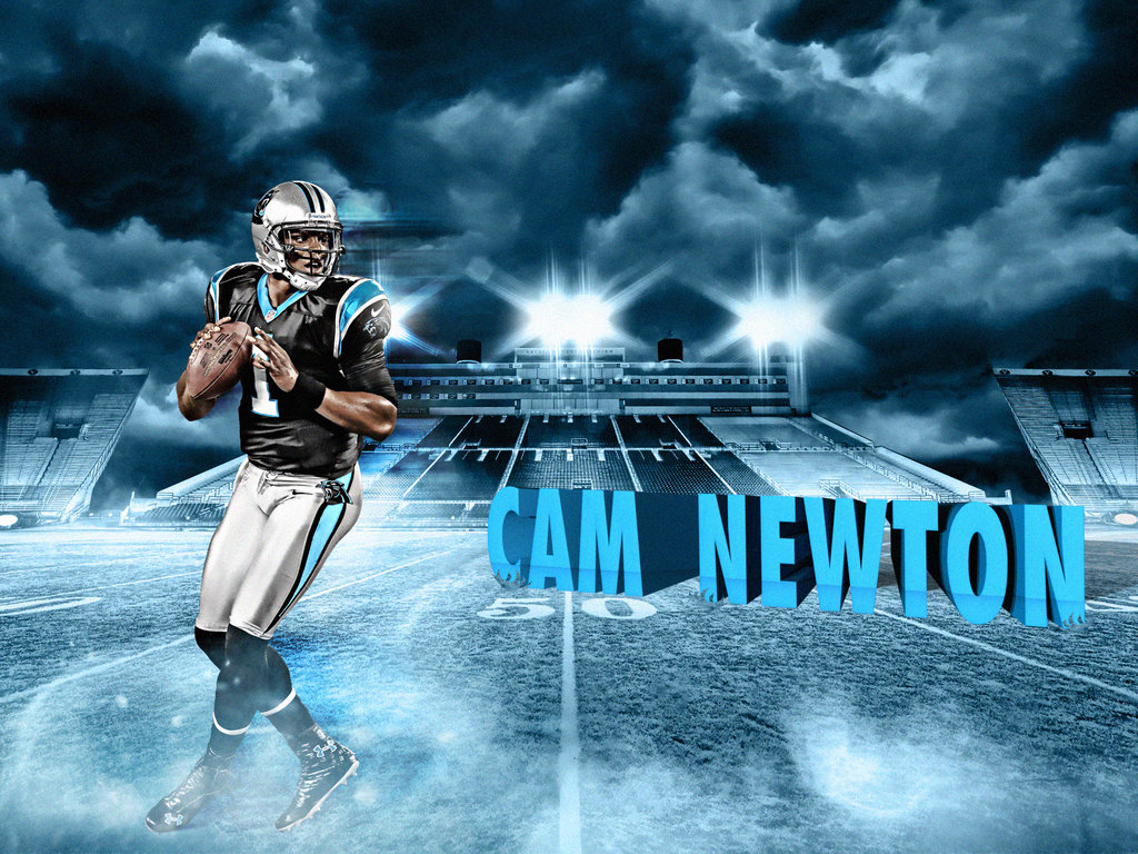 Cam Newton Superman Drawing Cam newton by no look pass 1024x768