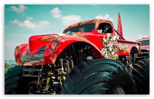 monster truck wallpaper wallpapersafari