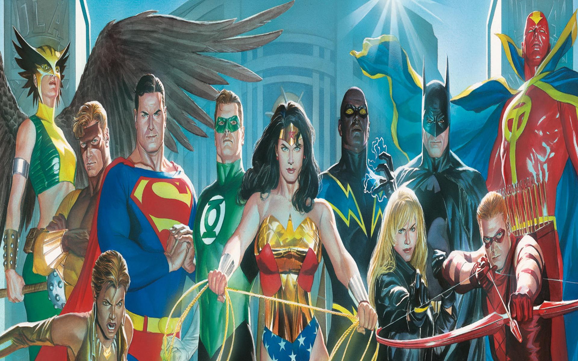 Free Download Alex Ross Wallpapers Dc Comics Art Wallpaper Justice