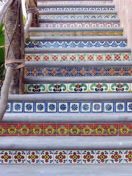 cute ideas tile stairs mexicans tiles stairs 2 jpg mexicans wallpapers 500x667