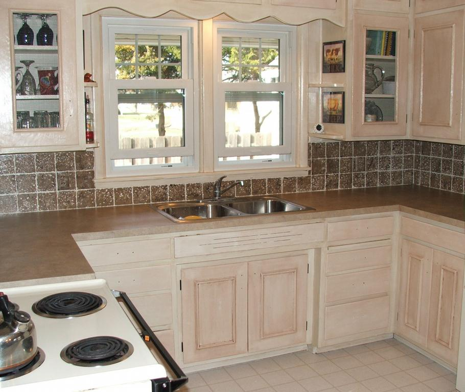 Wood Tile Kitchen Backsplash: Faux Tile Wallpaper For Kitchen