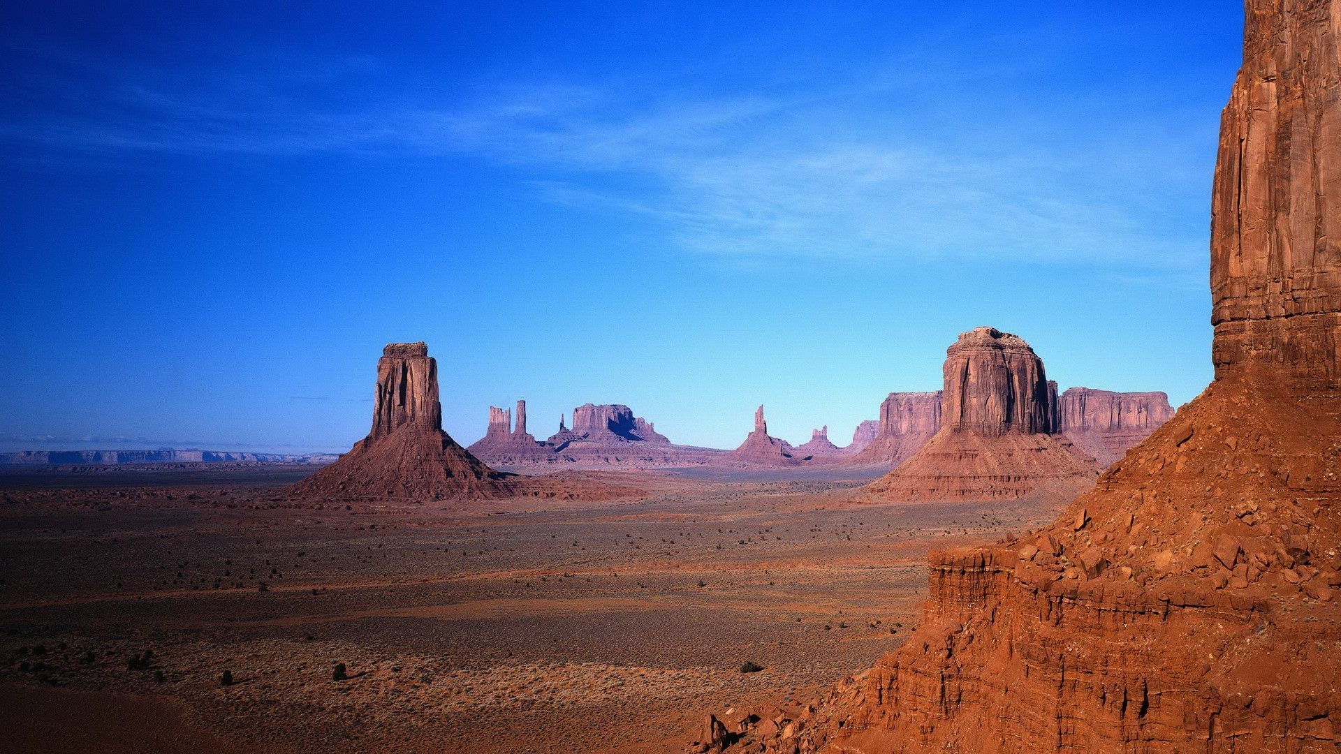 Monument Valley Wallpaper Nature USA 1920x1080
