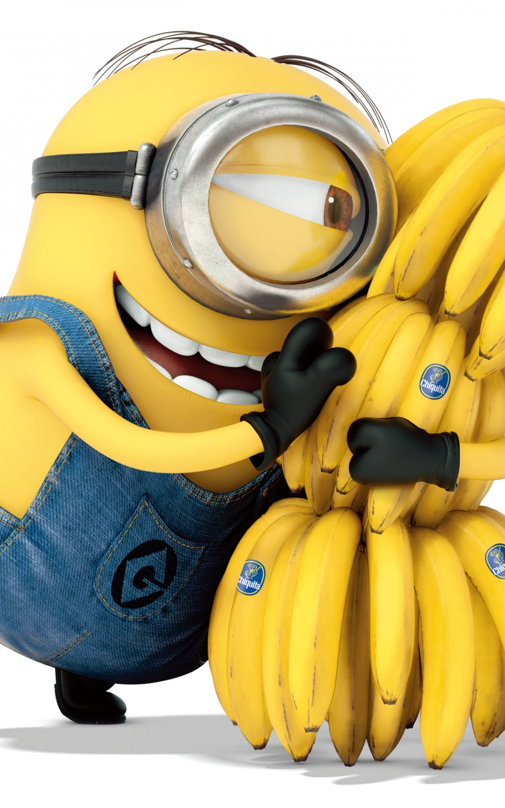 Free Download Despicable Me Minion Hugging Bananas Android