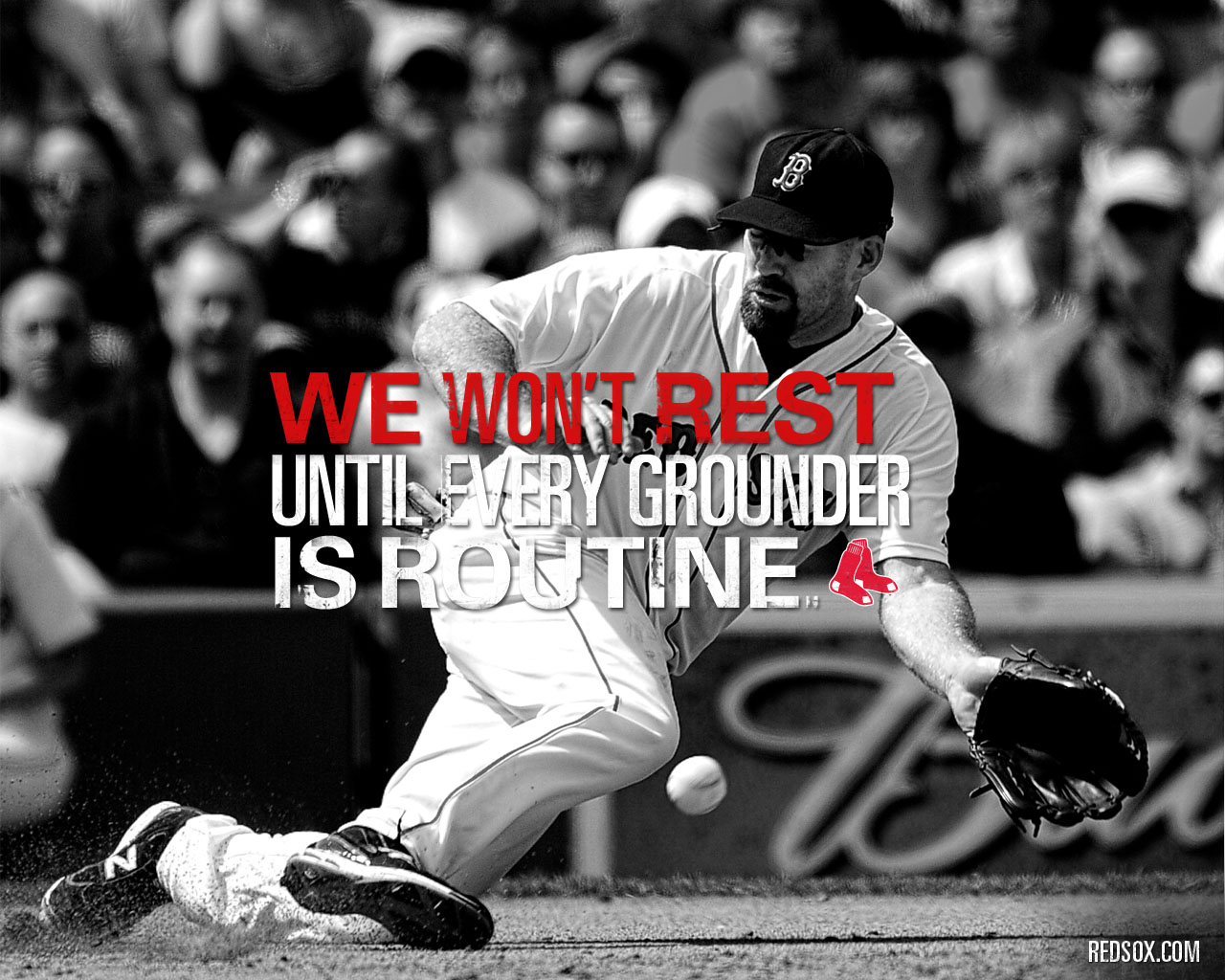 We Wont Rest Boston Red Sox 1280x1024