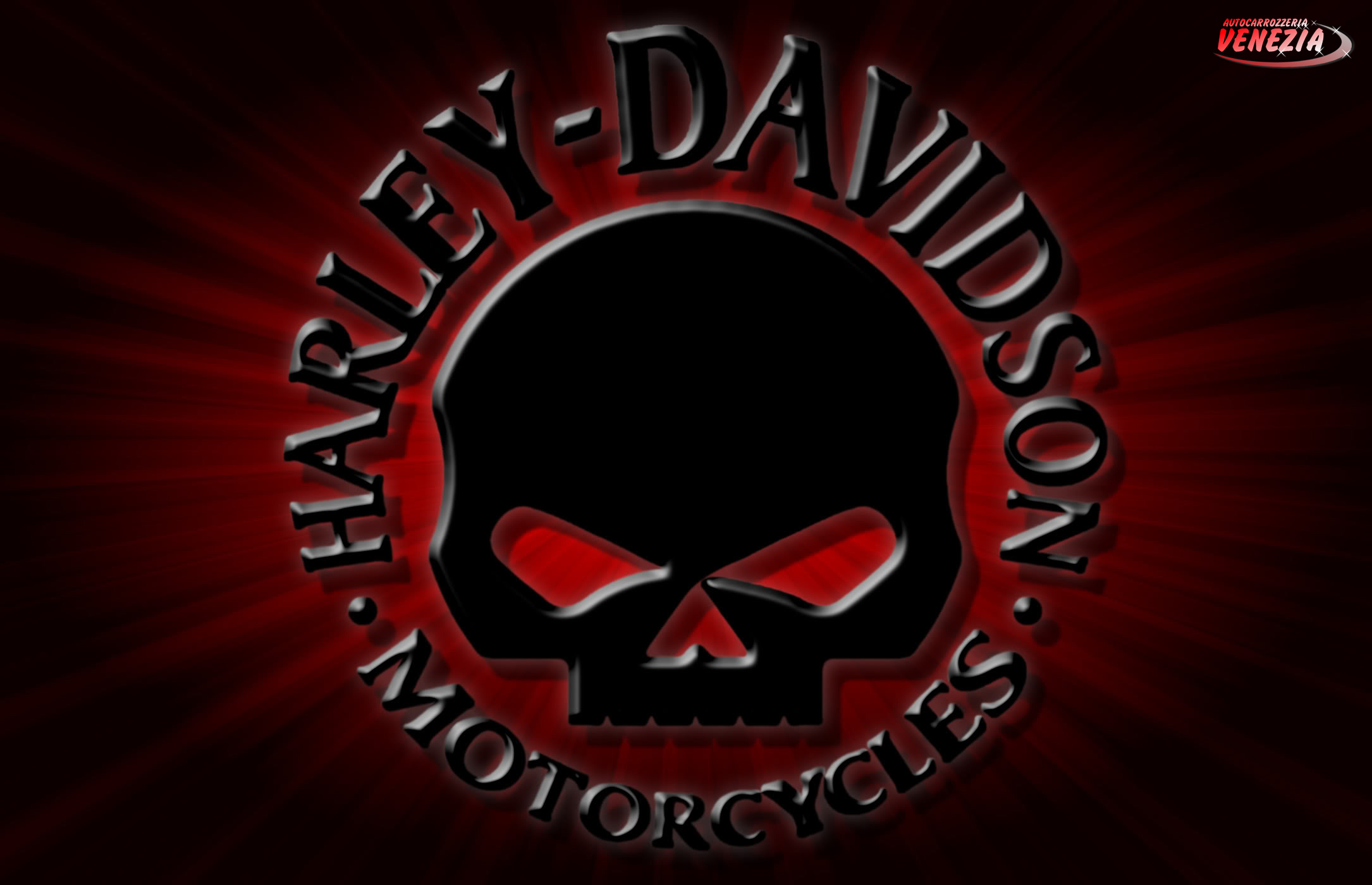 Harley Davidson Skull Logo Hd