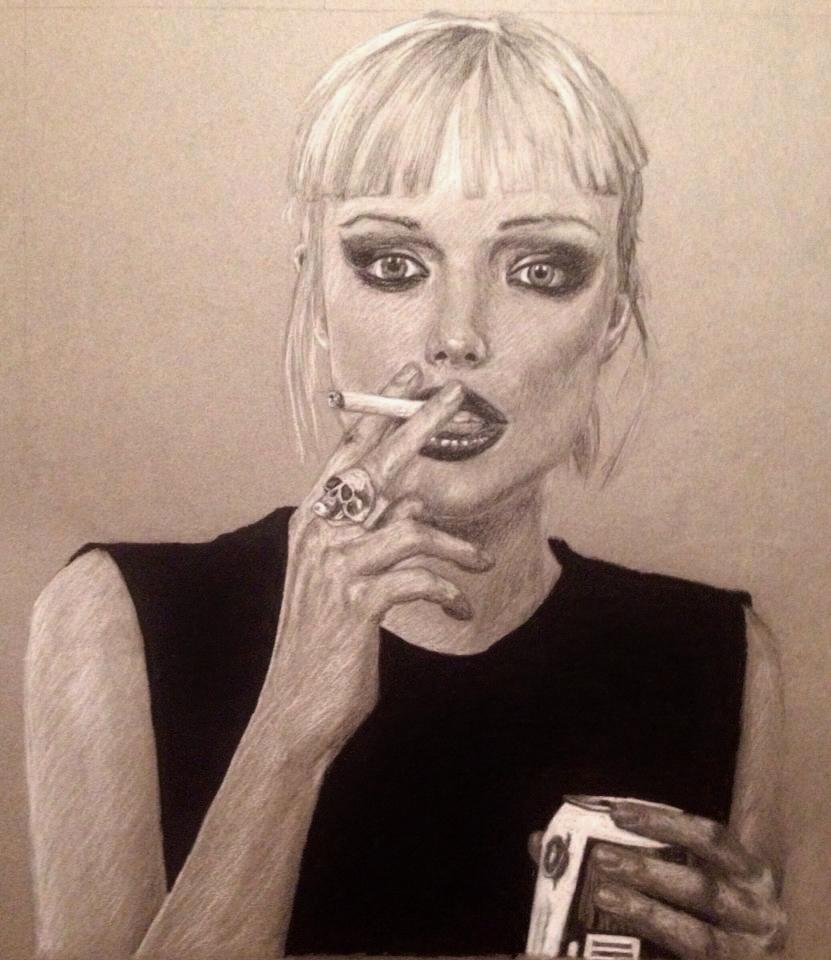 Reckless   Alice Glass by karlalii 831x960