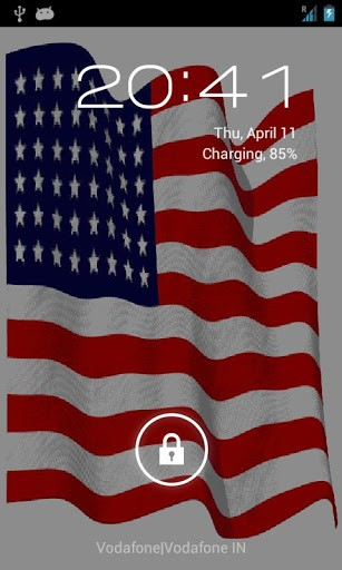 Download American Flag Live Wallpaper for Android by APPLICITY 307x512