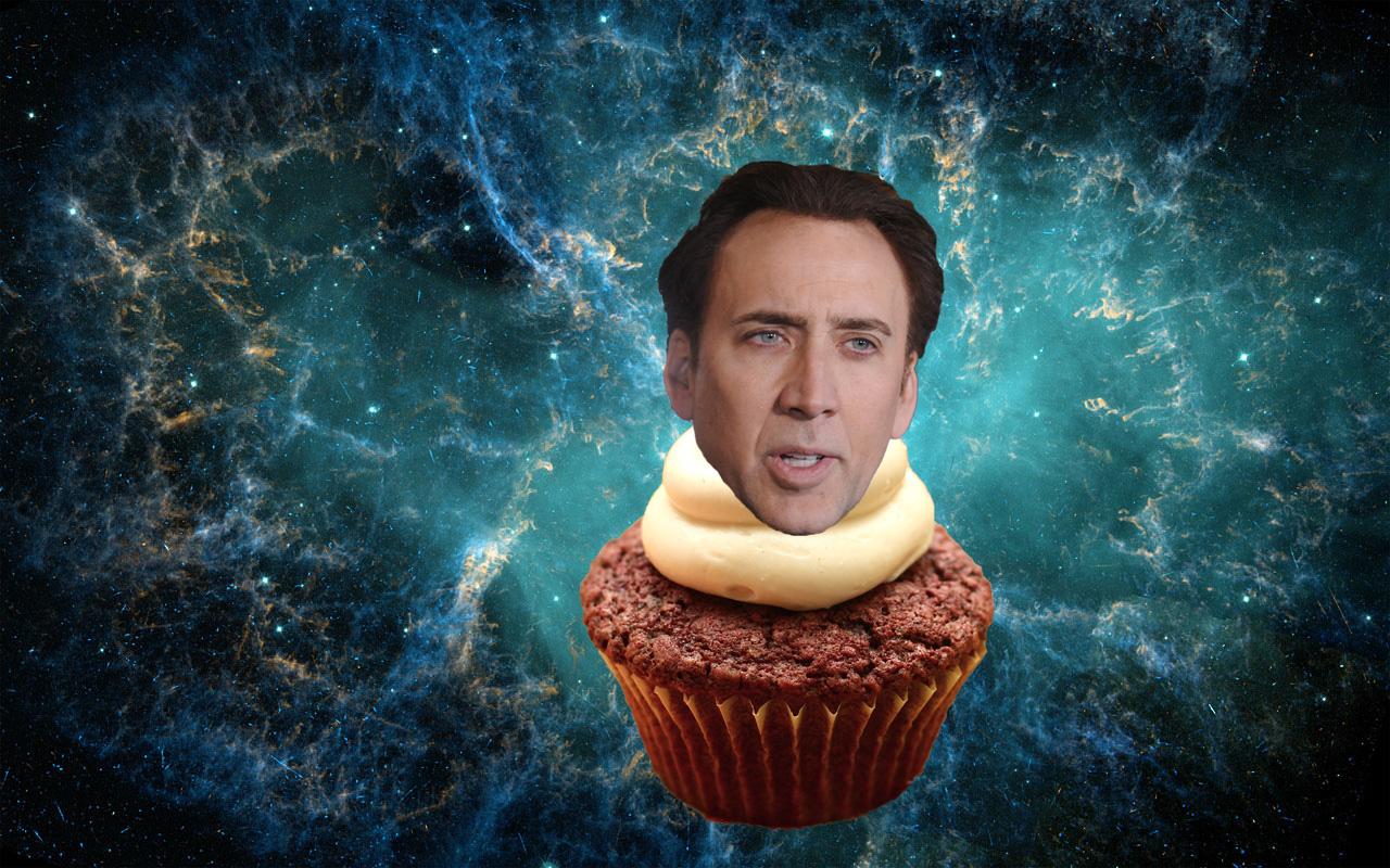 Nicolas Cage universal cupcake Nicolas Cage Funny Pinterest 1280x800