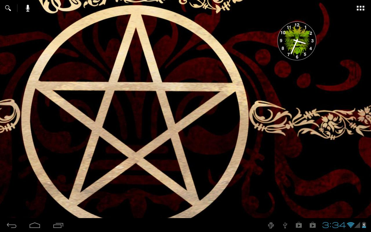 Wiccan Pentagram Wallpaper The wiccan wallpapers and 1280x800