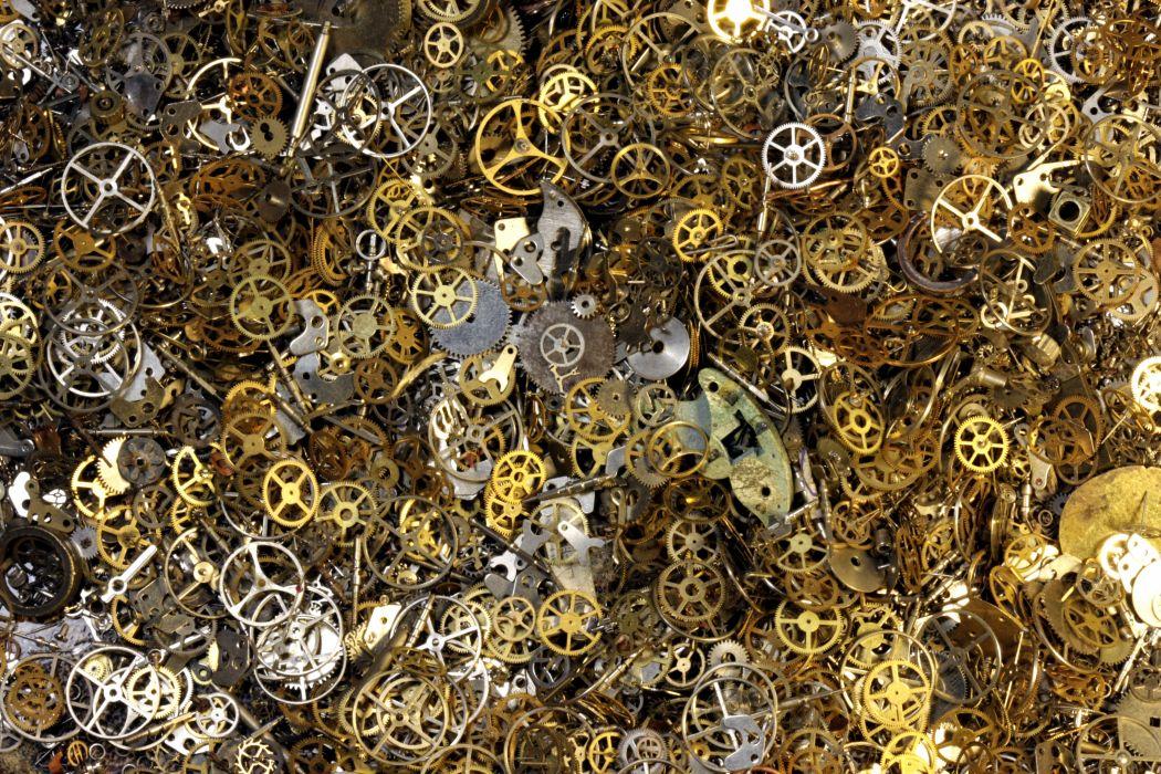 Gears mechanical technics metal steel abstract abstraction 1050x700