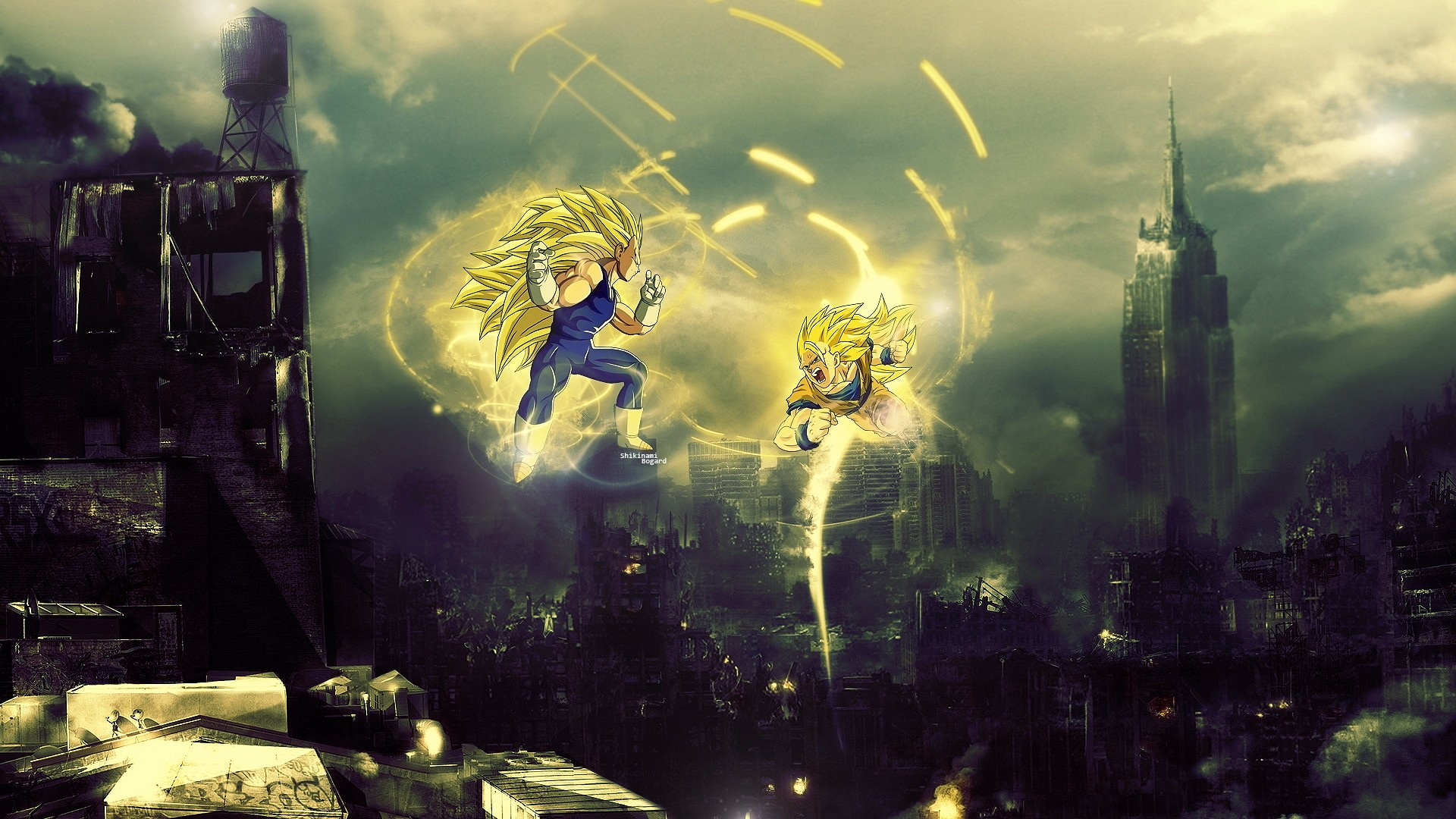 48 dbz hd wallpaper 1920x1080 on wallpapersafari - 3d wallpaper of dragon ball z ...