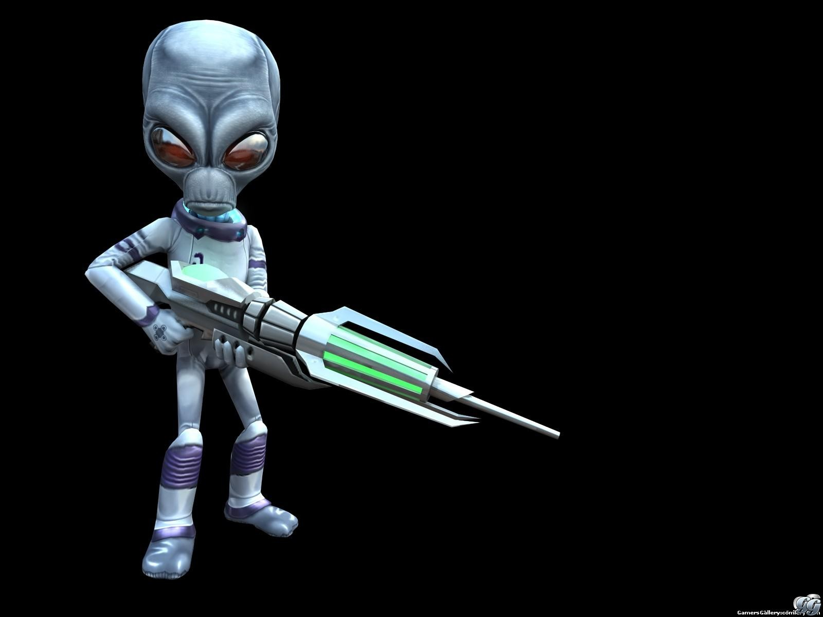 Gamers Gallery   Destroy All Humans Exclusive Wallpaper 1600x1200