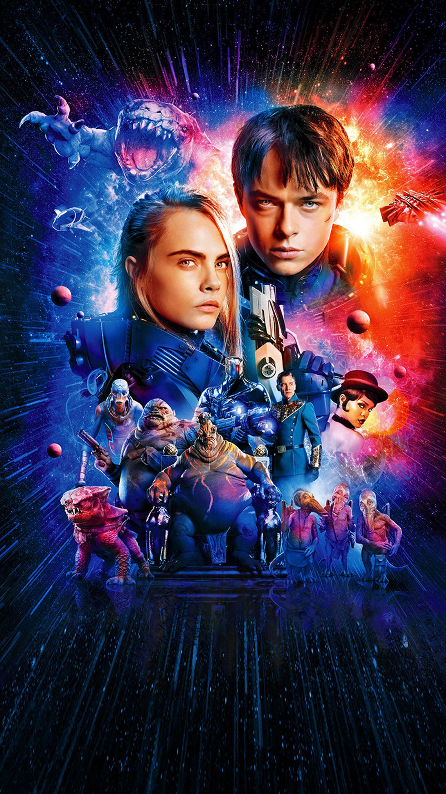 Valerian and the City of a Thousand Planets Wallpaper 7   1536 X 1536x2732