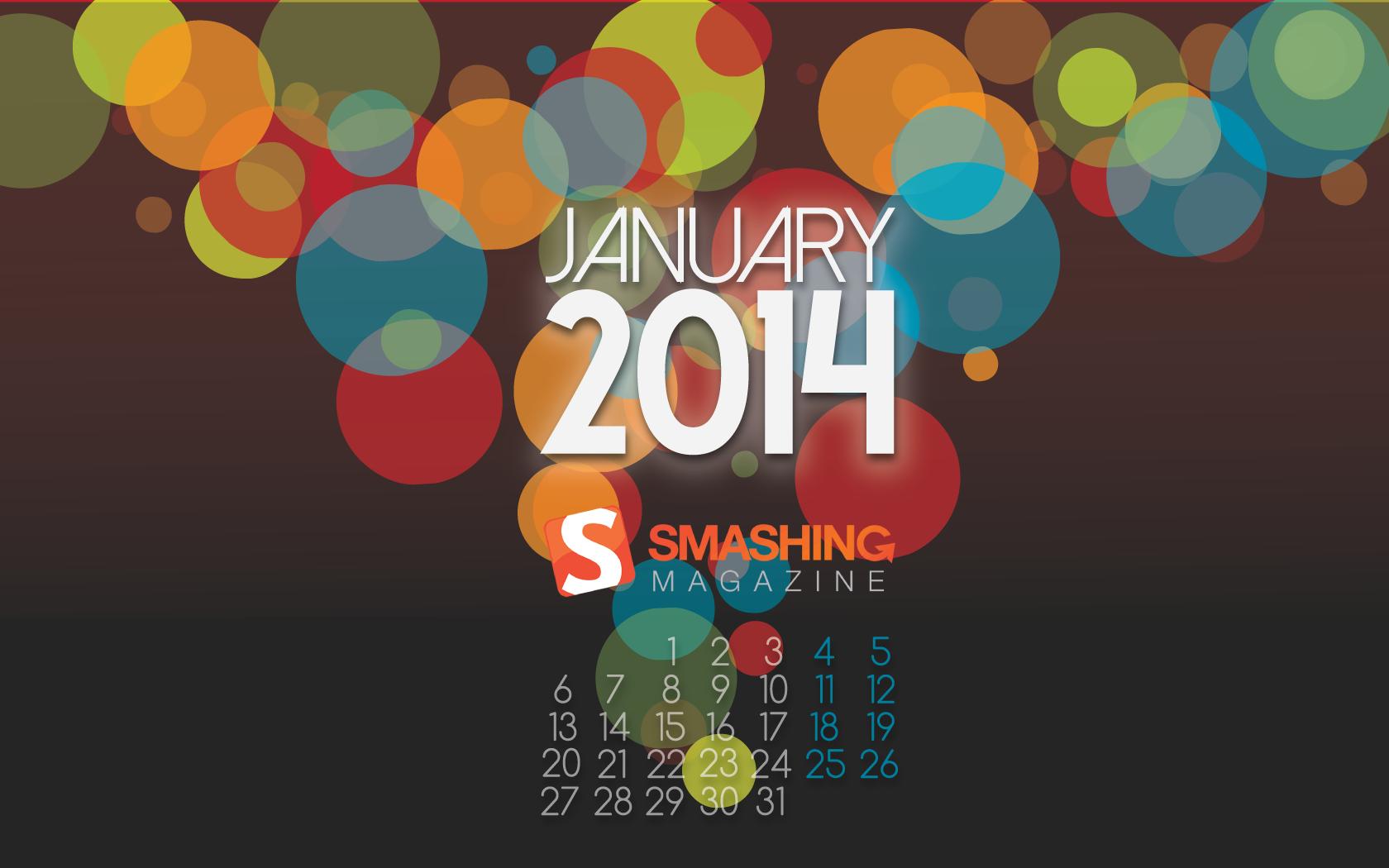 Desktop Wallpaper Calendars January 2014 Smashing Magazine 1680x1050