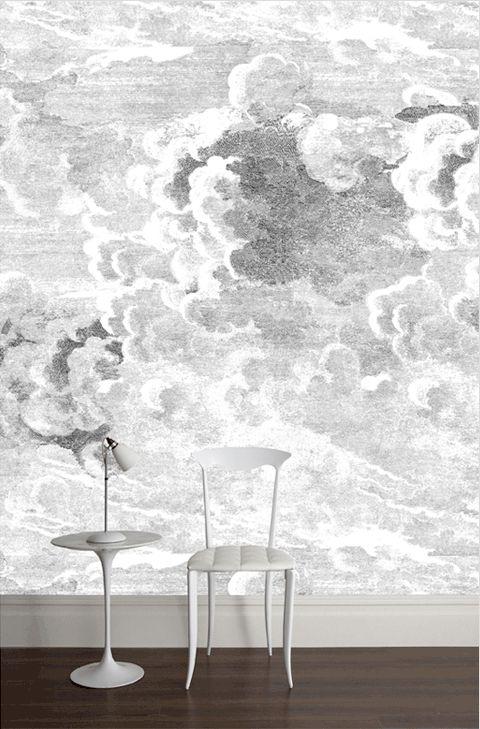Fornasetti Clouds Wallpaper Wallpaper Pinterest 480x729