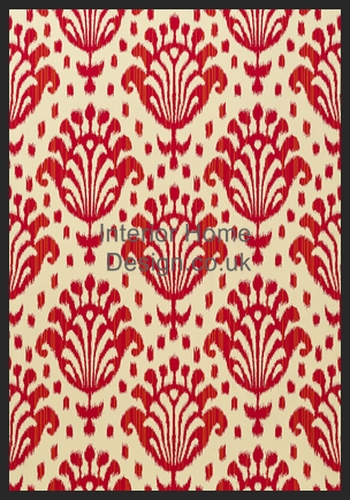 wallpaper thibaut wallpaper jubilee thai ikat t4947 raspberry jubilee 350x500
