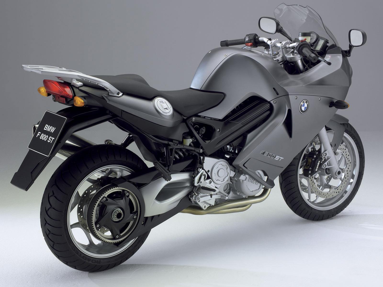 2006 BMW F800 ST Motorcycle Desktop Wallpapers 1600x1200