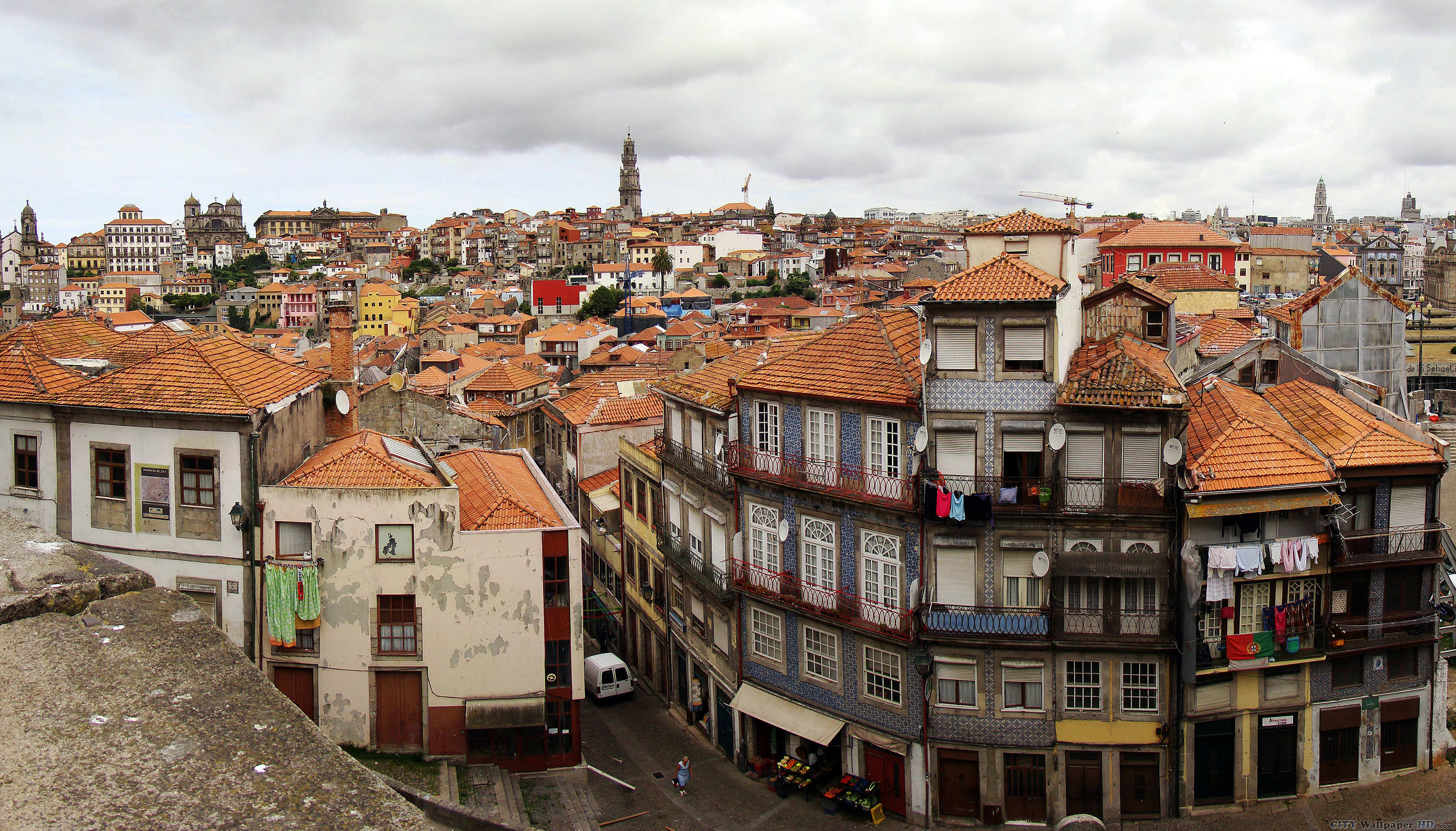 Porto Portugal wallpaper Pictures cities in the world Porto 3500x1997