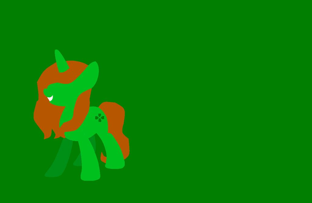 Minimal wallpaper Clover Leaf by Starlollipop 1024x668
