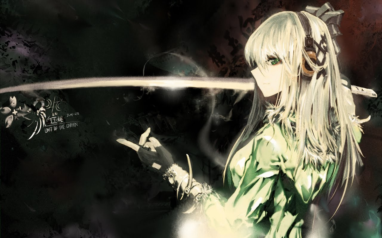 Video Games Wallpaper 1280x800 Video Games Touhou Katana Weapons 1280x800