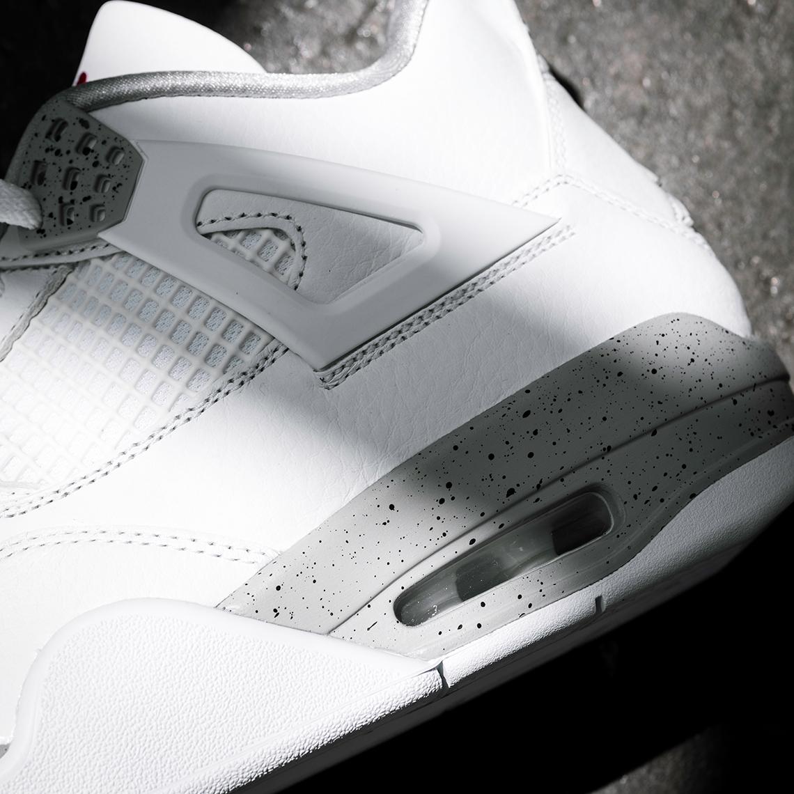 Air Jordan 4 White Oreo CT8527 100 Store List SneakerNewscom 1140x1140