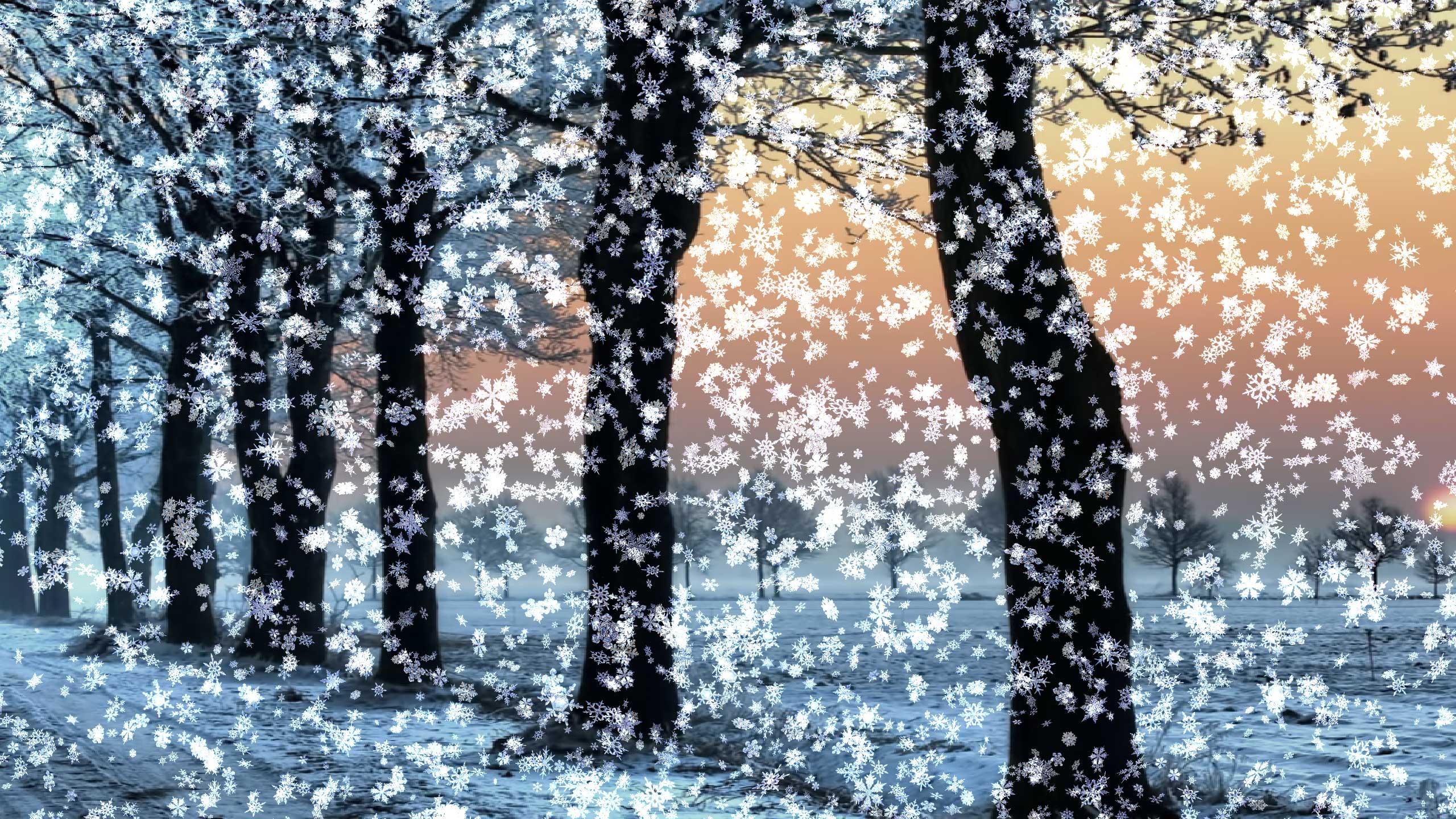 Картинки анимация снегопада для рабочего стола