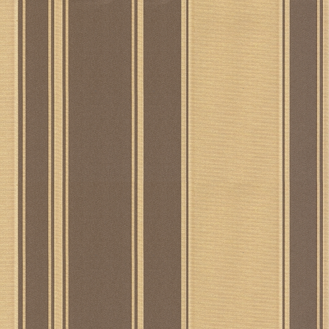 Regency Stripe Brown Gold Wallpaper from Seriano by Belgravia Decor 1100x1100