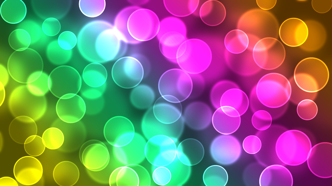 Abstract Colorful Wallpaper 1280x720 Abstract Colorful Bokeh 1280x720