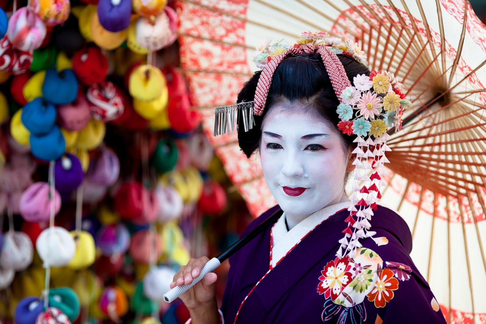 Geisha Wallpaper 1600x1067