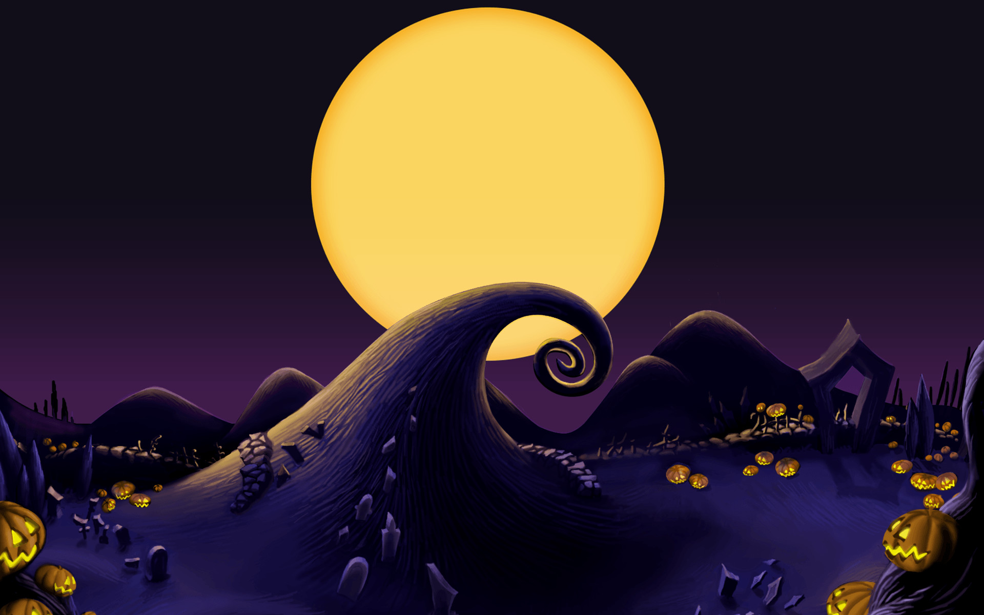 Nightmare Before Christmas Background 53 pictures 1920x1200