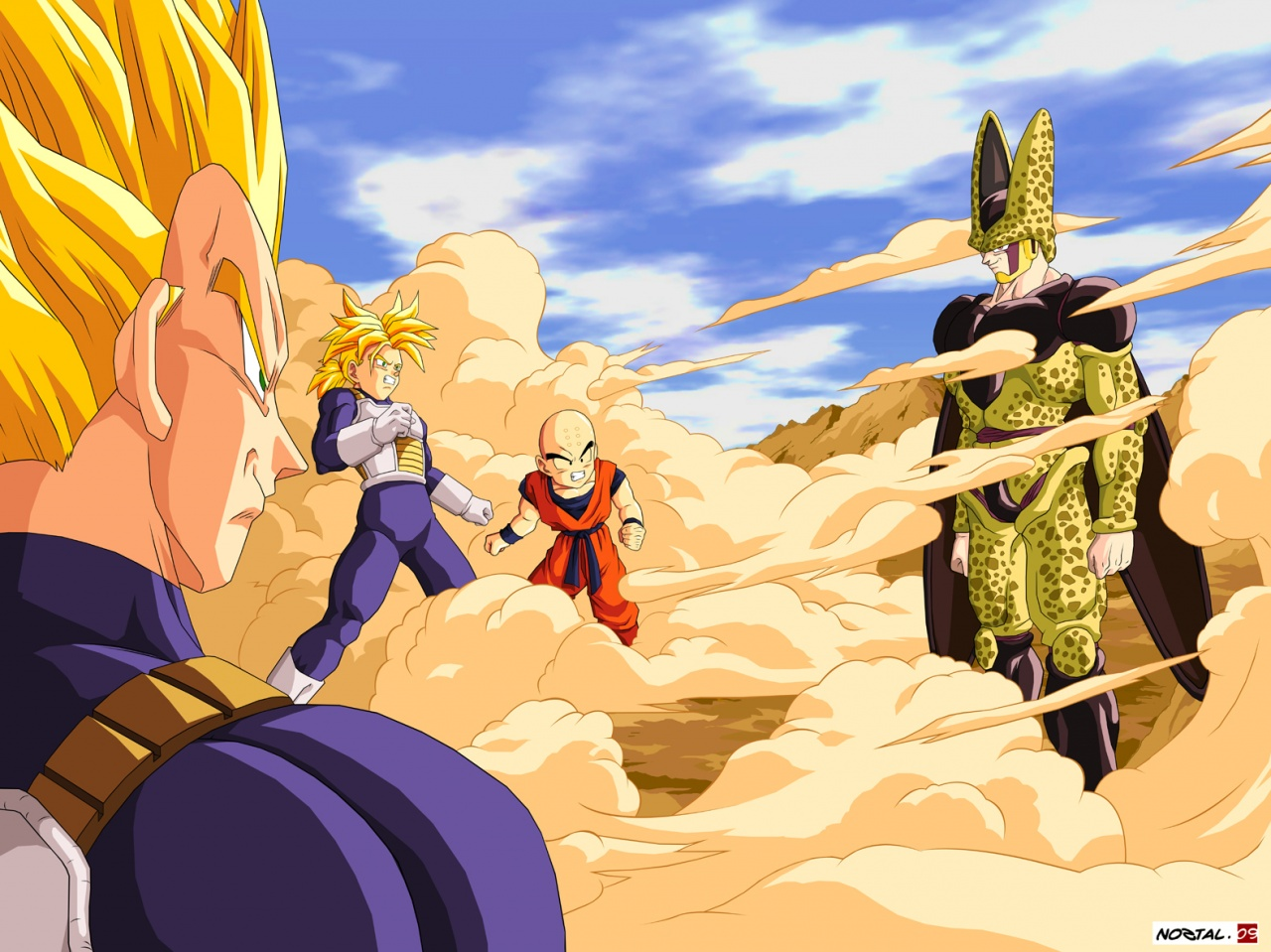 Dragon Ball Z en batalla Fondos de Pantalla   Imagenes Hd  Fondos 1280x959