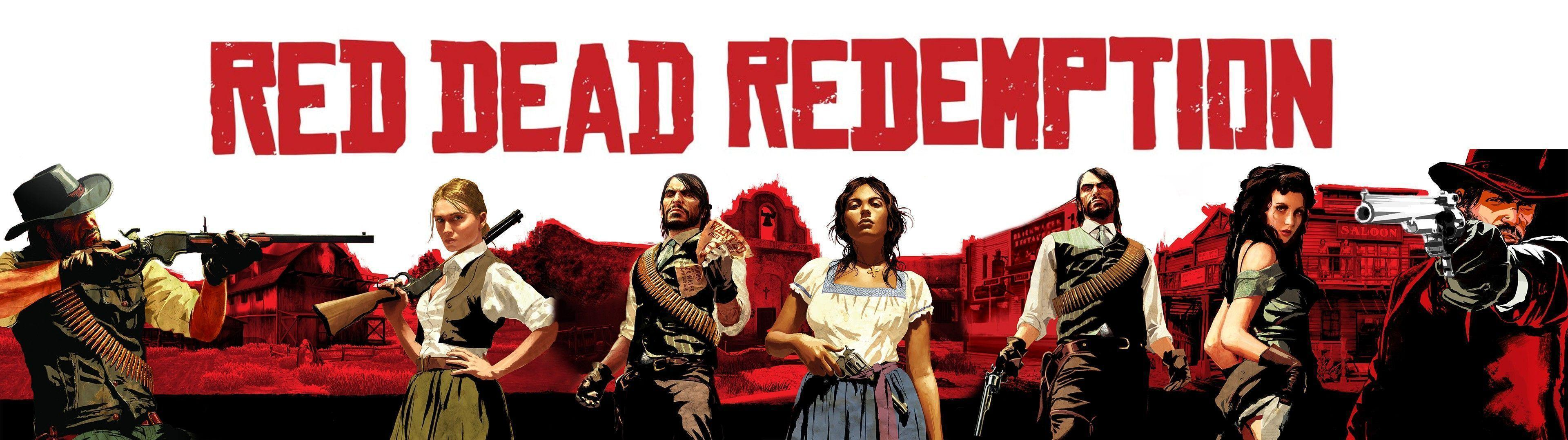 Free Download Red Dead Redemption Wallpapers Hd 3840x1080 For