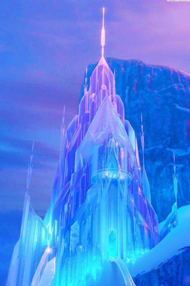 Backgrounds Castles Frozen Disney Wallpaper Ice Castles Elsa 640x960