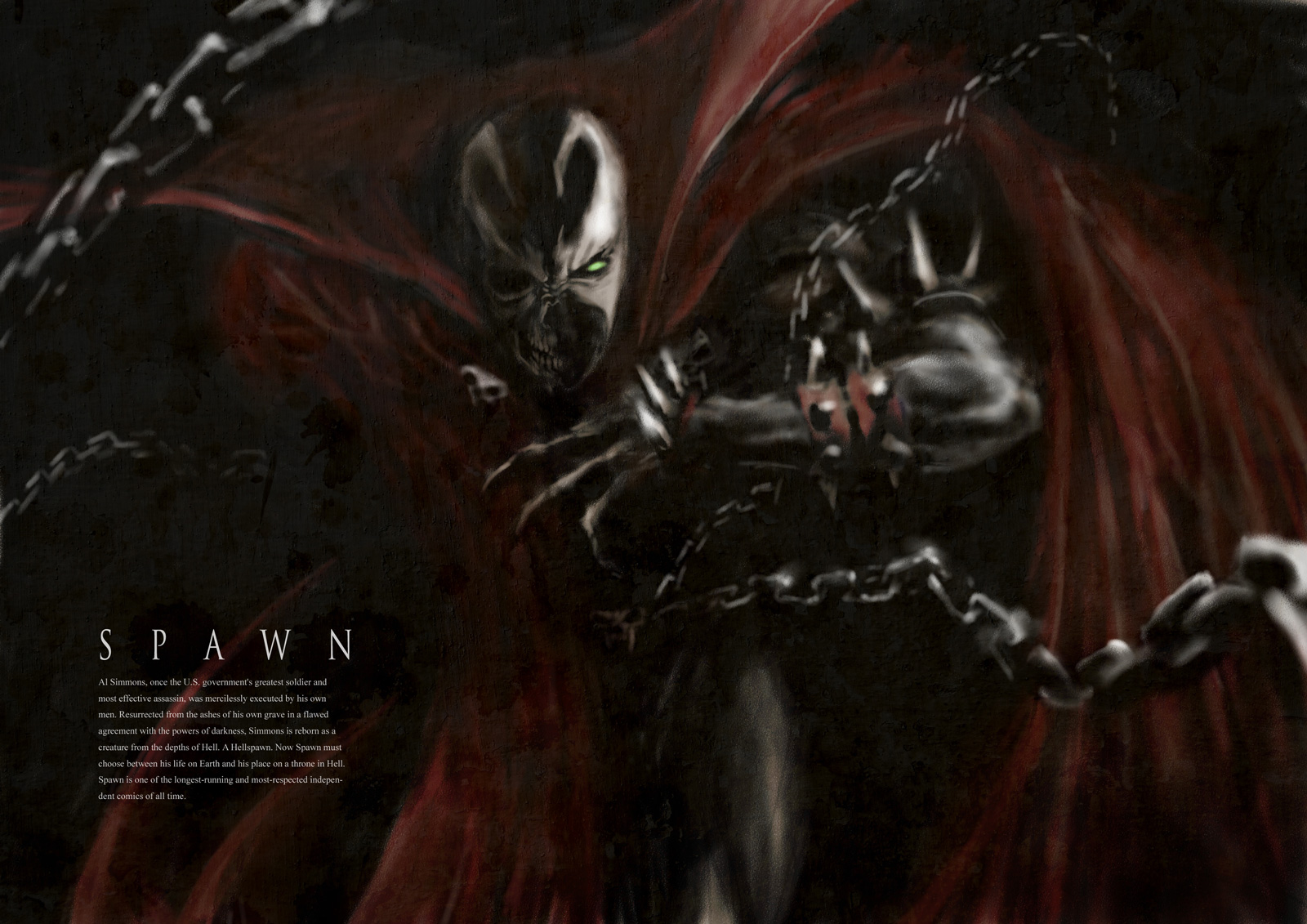 Spawn wallpaper | 1600x1131 | 39664 | WallpaperUP