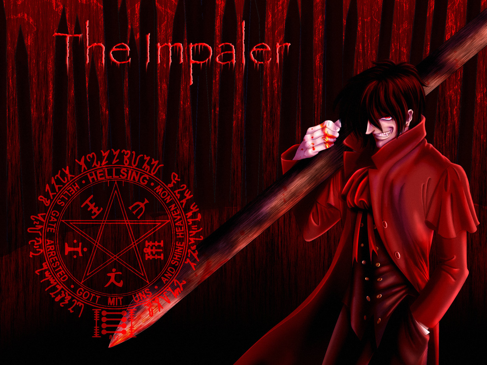tepes or vlad the impaler the impaler wallpaper by tchintchie on ...