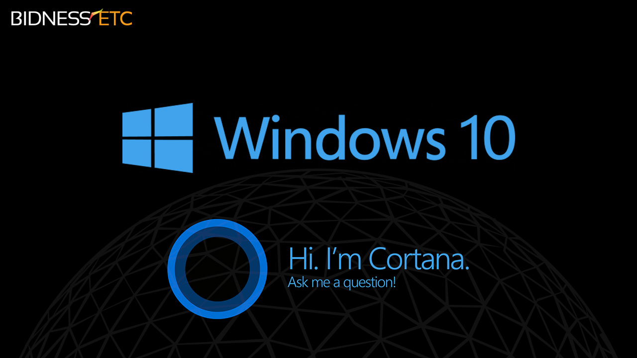 Microsoft Cortana Windows 10