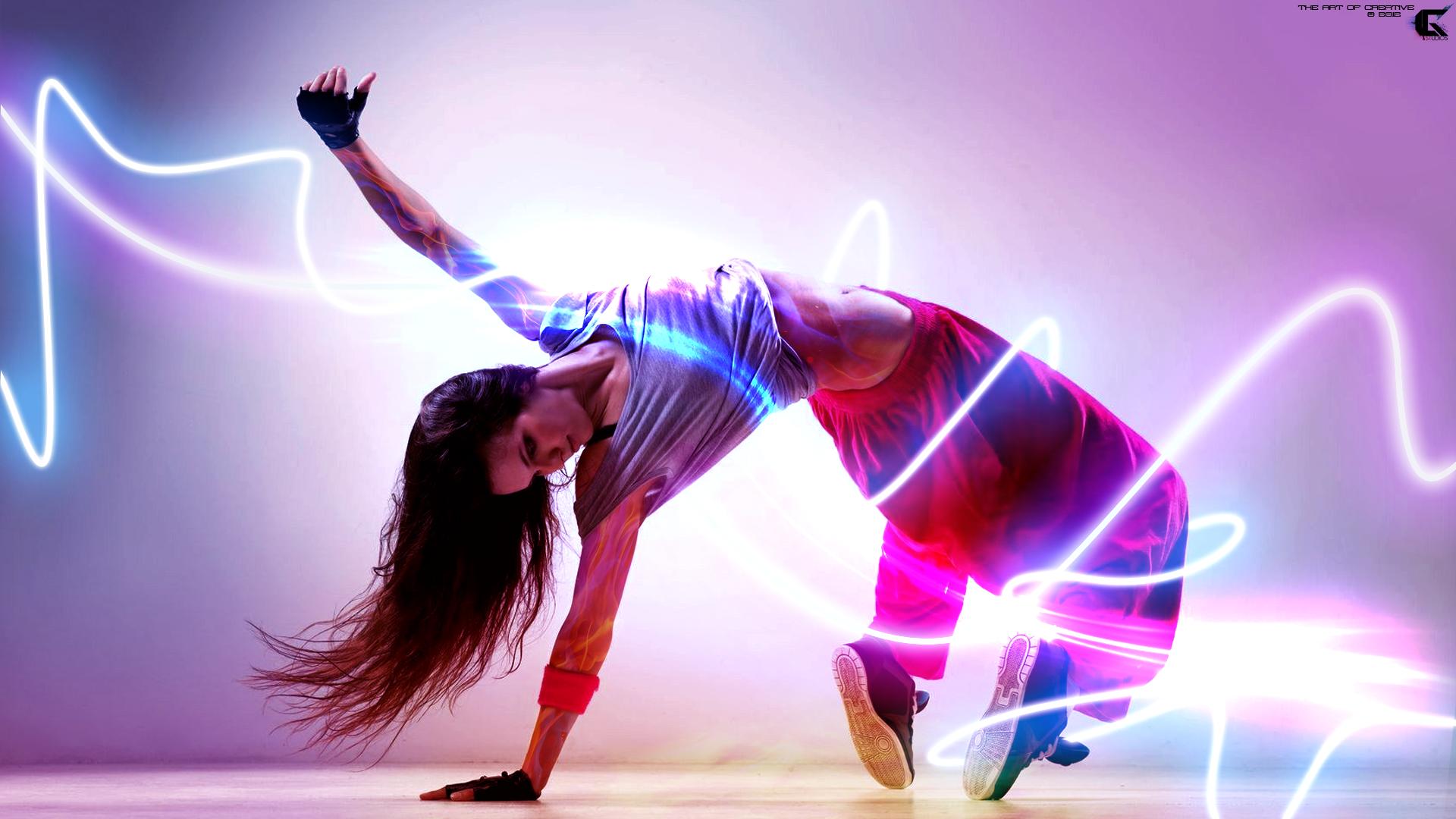 Dancing Girl Wallpaper   Full HD by iGStudios 1920x1080