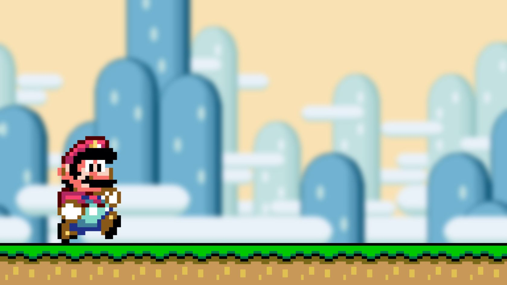 16 Bit Mario Wallpapers Wallpapers Pictures Piccit 1680x945