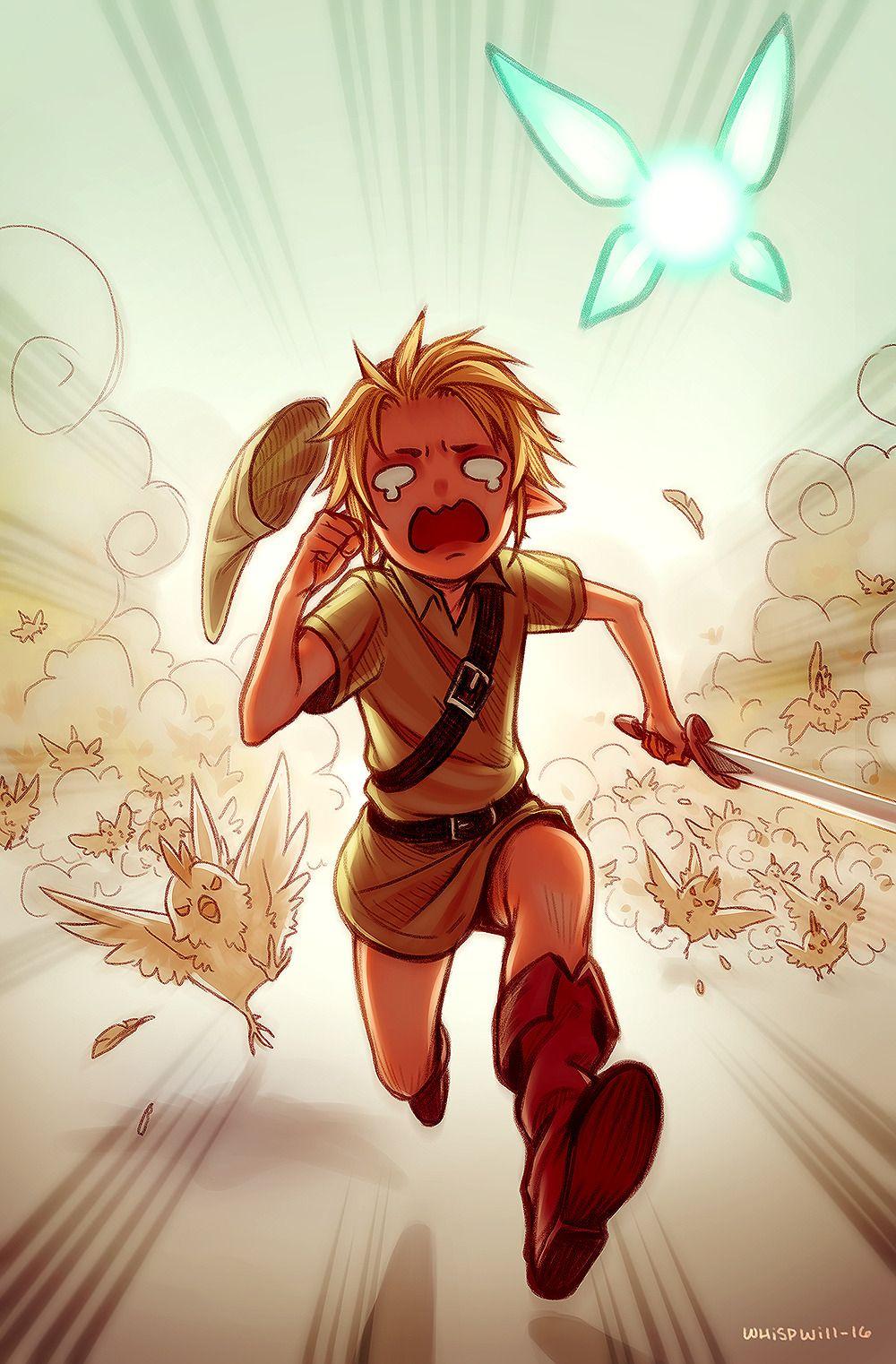 Whispwill Zelda no Densetsu Ocarina of Time Young Link Link 1000x1522