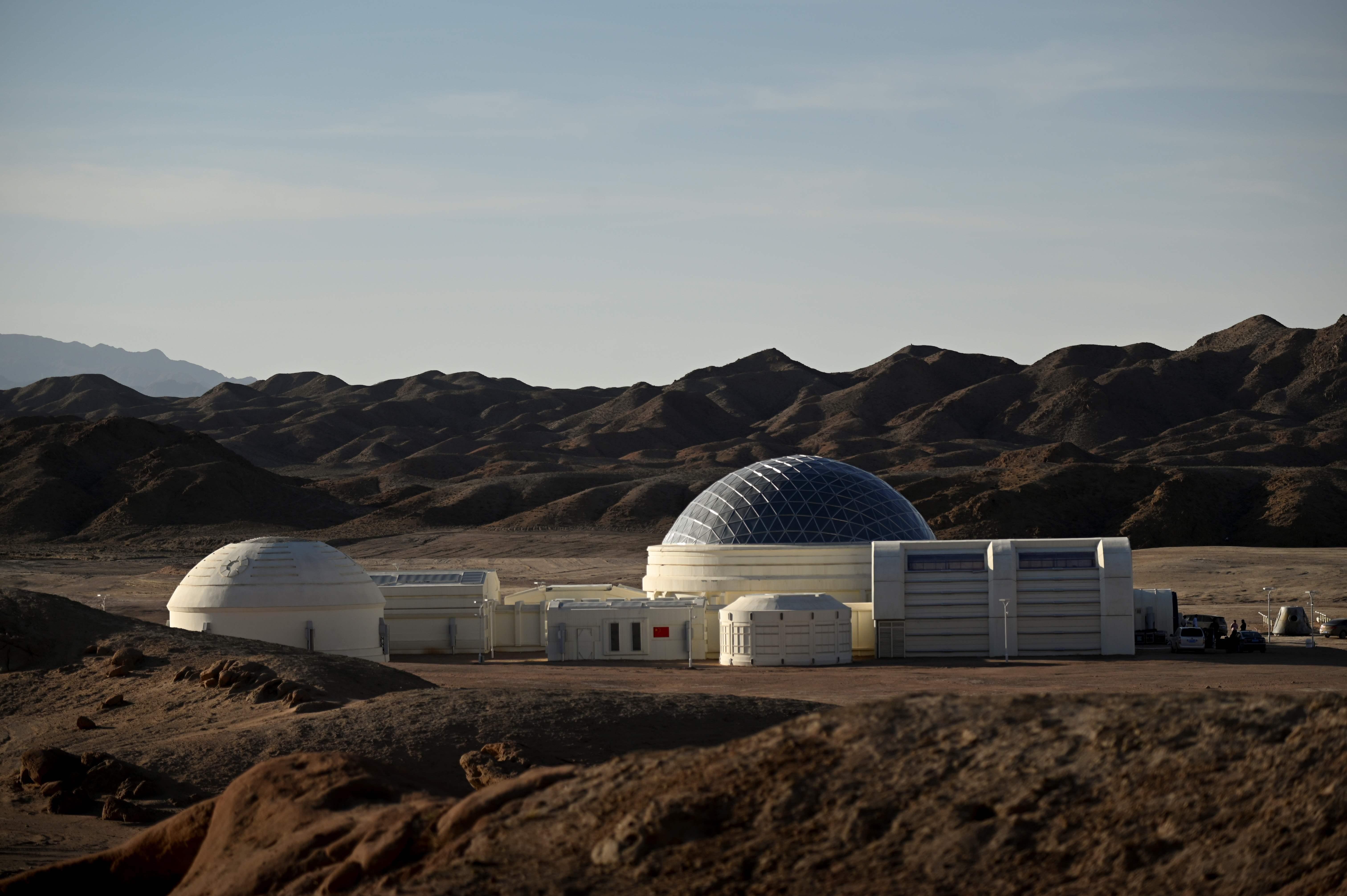 Chinas fake Mars base camp lets visitors explore Star Wars style 6048x4024