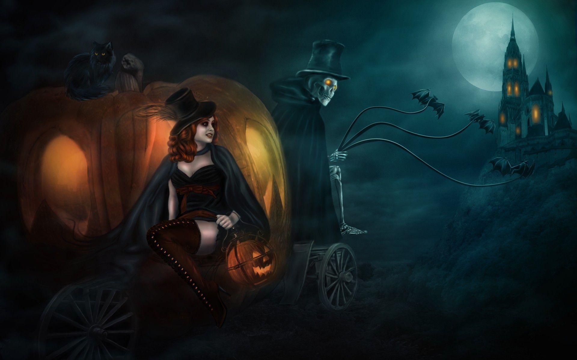 Halloween Witch Desktop Wallpapers   Top Halloween Witch 1920x1200