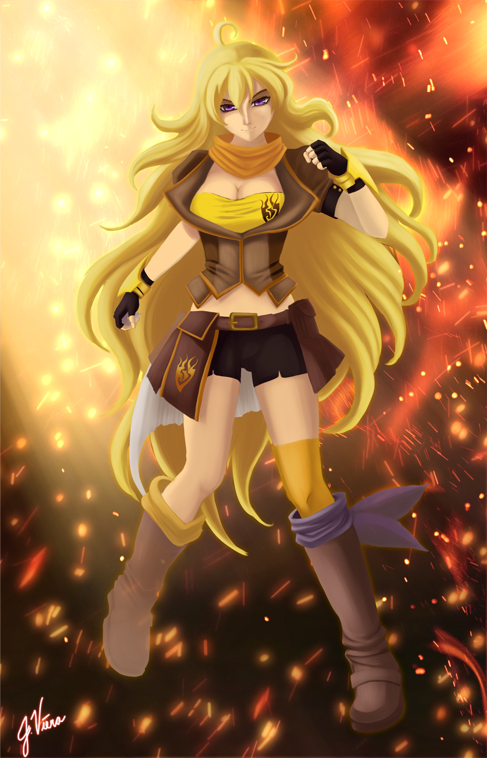 Free Download Rwby Yang Xiao Long Wallpaper By 951x1479 For Your