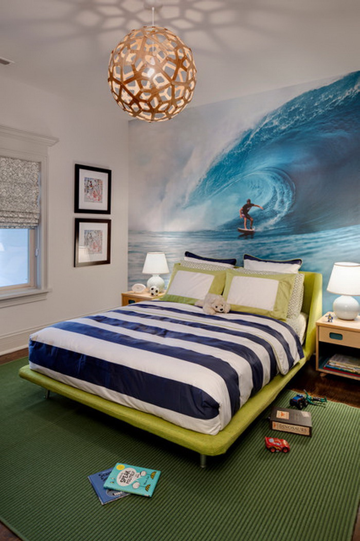 with Beach Wallpaper Murals Installing Wallpaper Mural to Your Wall 700x1052