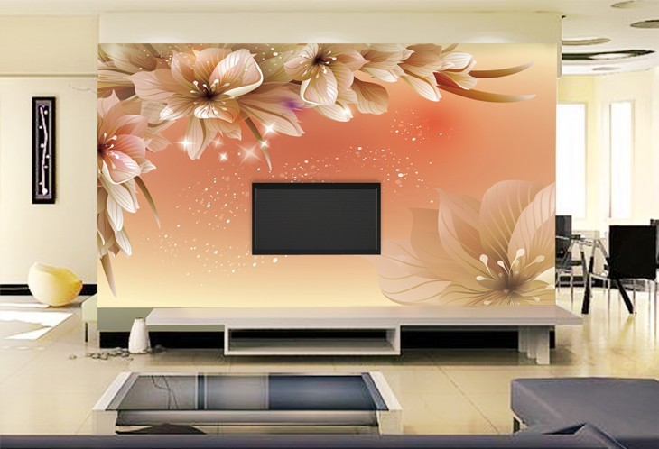 Making Luxury Wallpapers For Living Room Wall Paper 3d Mural Wallpaper 730x498