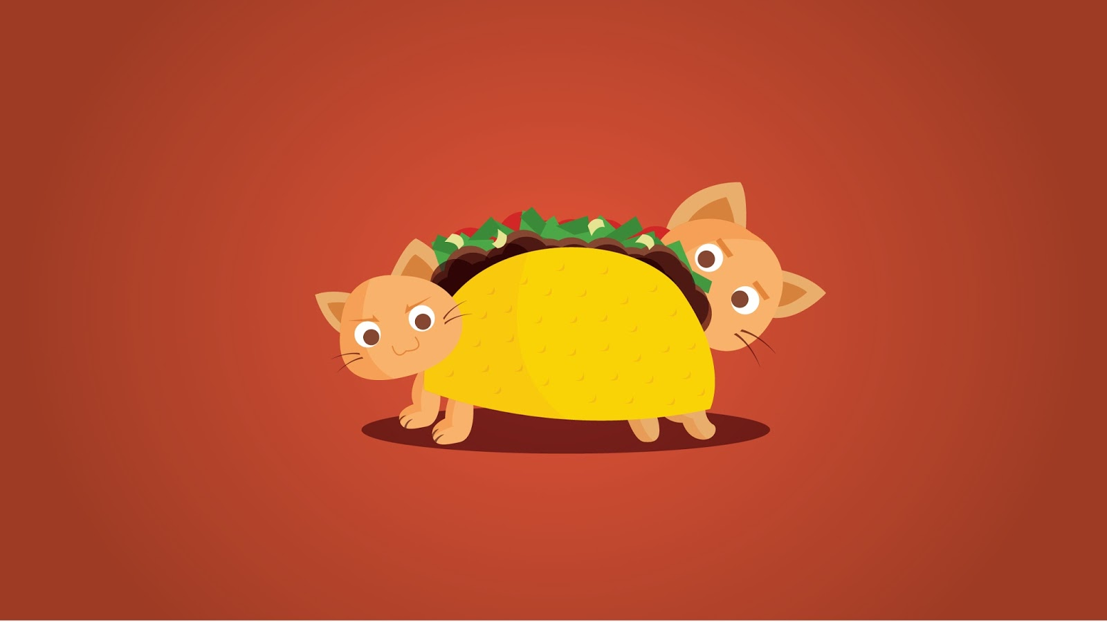 Taco Cat Wallpaper